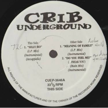 VARIOUS ( CRIB UNDERGROUND ) - SOLLY HO - MEANING OF FAMILY - DO YOU FEEL ME ?