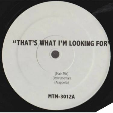 VARIOUS ( CRIB UNDERGROUND ) - THAT'S WHAT I'M LOOKIN FOR - SPEND MY LIFE WITH YOU