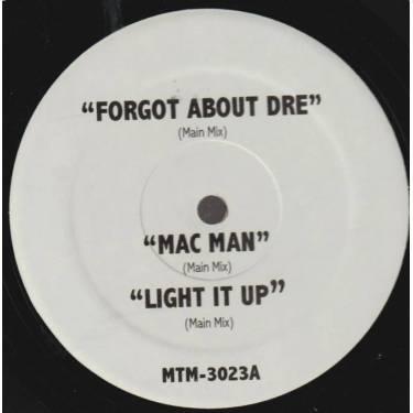 VARIOUS ( CRIB UNDERGROUND ) - FORGOT ABOUT DRE- MAC MAN - LIGHT IT UP - WHOA