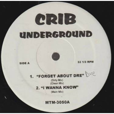 VARIOUS ( CRIB UNDERGROUND ) - FORGET ABOUT DRE - I WANNA KNOW - DO THE LADIES RUN THIS