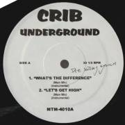 VARIOUS ( CRIB UNDERGROUND ) - WHAT'S THE DIFFERENCE - LET'S GET HIGH - FORGOT ABOUT DRE - ACTRITE