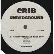 VARIOUS ( CRIB UNDERGROUND ) - NO MATTER WHAT THEY SAY - I'VE COMMITTED MURDER
