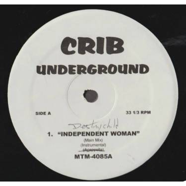 VARIOUS ( CRIB UNDERGROUND ) - INDIPENDENT WOMAN - THAT OTHER WOMAN - BACK UP