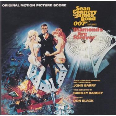 SOUNDTRACK - DIAMONDS ARE FOREVER 007 JAMES BOND
