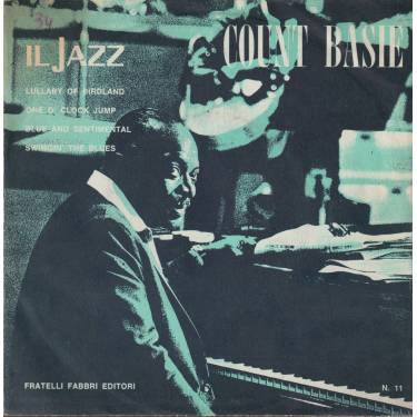 BASIE COUNT - LULLABY OF BIRDLAND - ONE O CLOCK JUMP - BLUE AND SENTIMENTAL - SWINGIN' THE BLUES