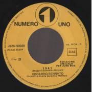 BENNATO EDOARDO - FORMULA 3 - 1941 - SE NON E' AMORE COS'E'
