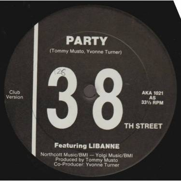 38TH STREET - PARTY FT LIBANNE