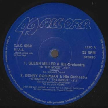 40 ALL'ORA   - SWING DANCE I BALLABILI DEGLI ANNI 40