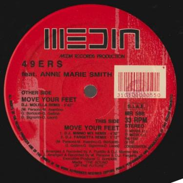 49ERS  - MOVE YOUR FEET 3  VERSIONS FEAT ANNE MARIE SMITH