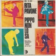 PAVONE RITA - PIPPO NON LO SA / UN DUE TRE ( SE MARCI INSIEME A ME)