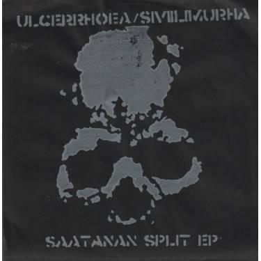 ULCERRHOEA /SIVIILIMURHA - SAATANAN SPLIT EP