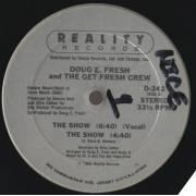 FRESH DOUG E. AND THE GET FRESH CREW - THE SNOW / VOCAL / INSTR / LA-DI-DA-DI