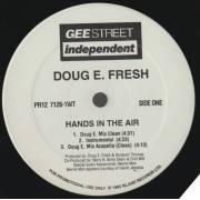 FRESH DOUG E.  - PROMO - HANDS IN THE AIR ( CLEAN - INSTR - ACAPELLA -MIX - LP VERSION )
