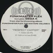 FUNKMASTER FLEX  - RESPECT CARTER ( DIRTY - CLEAN - INSTRUMENTAL )