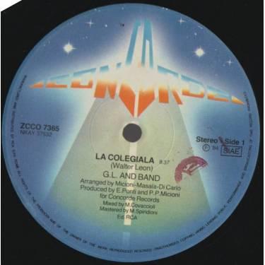 G.L. AND BAND - LA COLEGIALA / EQUADOR