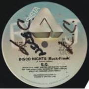 G.Q. - DISCO NIGHTS ( ROCK FREAK ) / BOOGIE OOGIE OOGIE