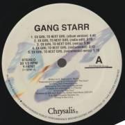 GANG STARR - EX GIRL TO NEXT GIRL / B.Y.S / DWYCK