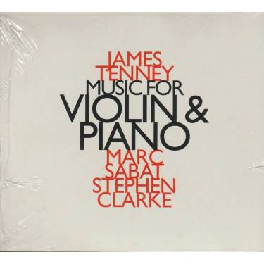 TENNEY JAMES - MUSIC FOR VIOLIN & PIANO