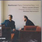 AIMARD PIERRE LAURENT - NIKOLAUS HARNONCOURT - BEETHOVEN PIANO CONCERTOS NOS 1-5