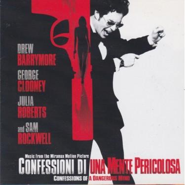 SOUNDTRACK - CONFESSIONI DI UNA MENTE PERICOLOSA ( CONFESSIONS OF A DANGEROUS MIND )